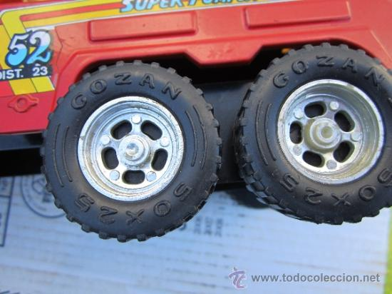Juguetes antiguos Gozán: camion de bomberos gozan - super -pumper system - ver fotos - Foto 9 - 36404158
