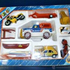 Altes Spielzeug Gozán - caja pick-up gozan con vehiculos - 40824703