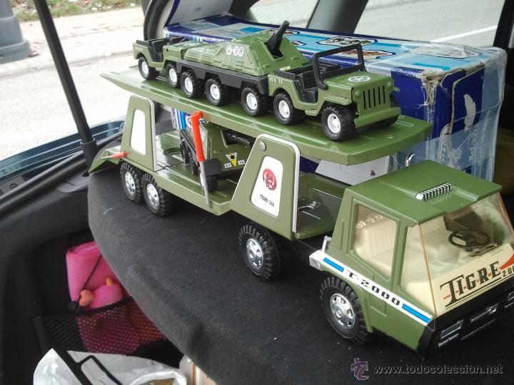 Juguetes antiguos Gozán: camion militar tigre de gozan en caja - Foto 2 - 62265816