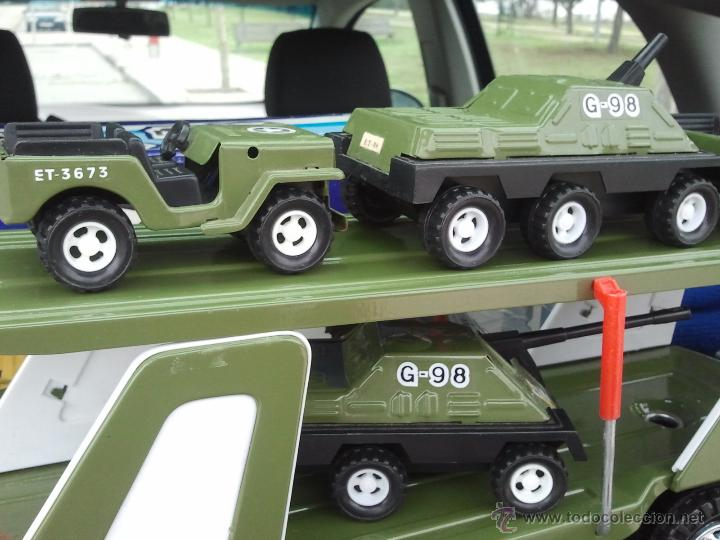 Juguetes antiguos Gozán: camion militar tigre de gozan en caja - Foto 3 - 62265816