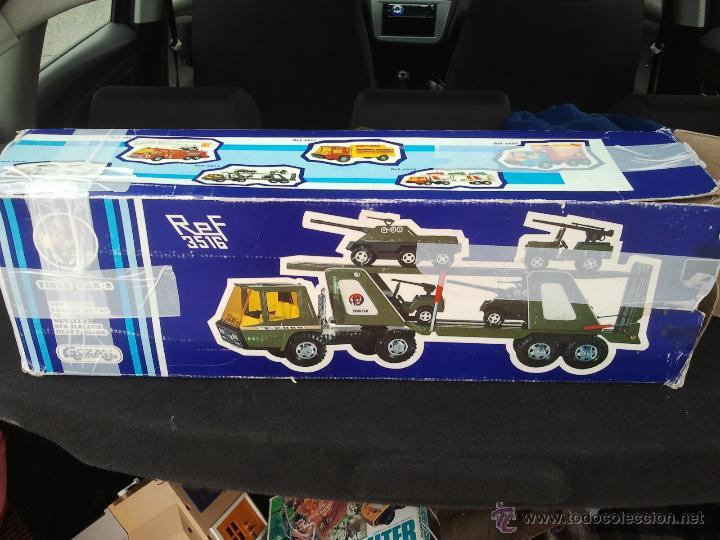Juguetes antiguos Gozán: camion militar tigre de gozan en caja - Foto 5 - 62265816