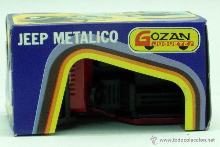 Juguetes antiguos Gozán: Furgoneta Jeep metálico Icona Gozán metal años 80 fricción caja nueva - Foto 2 - 169566184