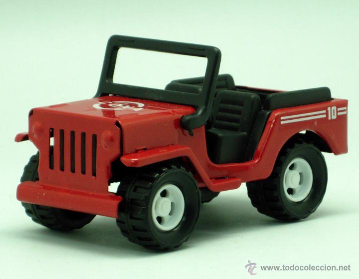 Juguetes antiguos Gozán: Furgoneta Jeep metálico Icona Gozán metal años 80 fricción caja nueva - Foto 4 - 169566184