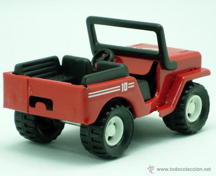 Juguetes antiguos Gozán: Furgoneta Jeep metálico Icona Gozán metal años 80 fricción caja nueva - Foto 5 - 169566184