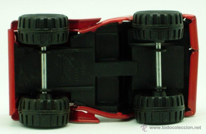Juguetes antiguos Gozán: Furgoneta Jeep metálico Icona Gozán metal años 80 fricción caja nueva - Foto 6 - 169566184