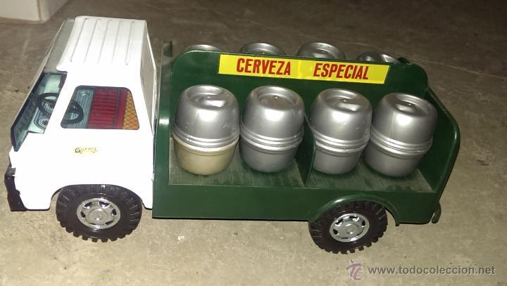 CAMION CERVEZA DE GOZAN (Juguetes - Marcas Clásicas - Gozán)