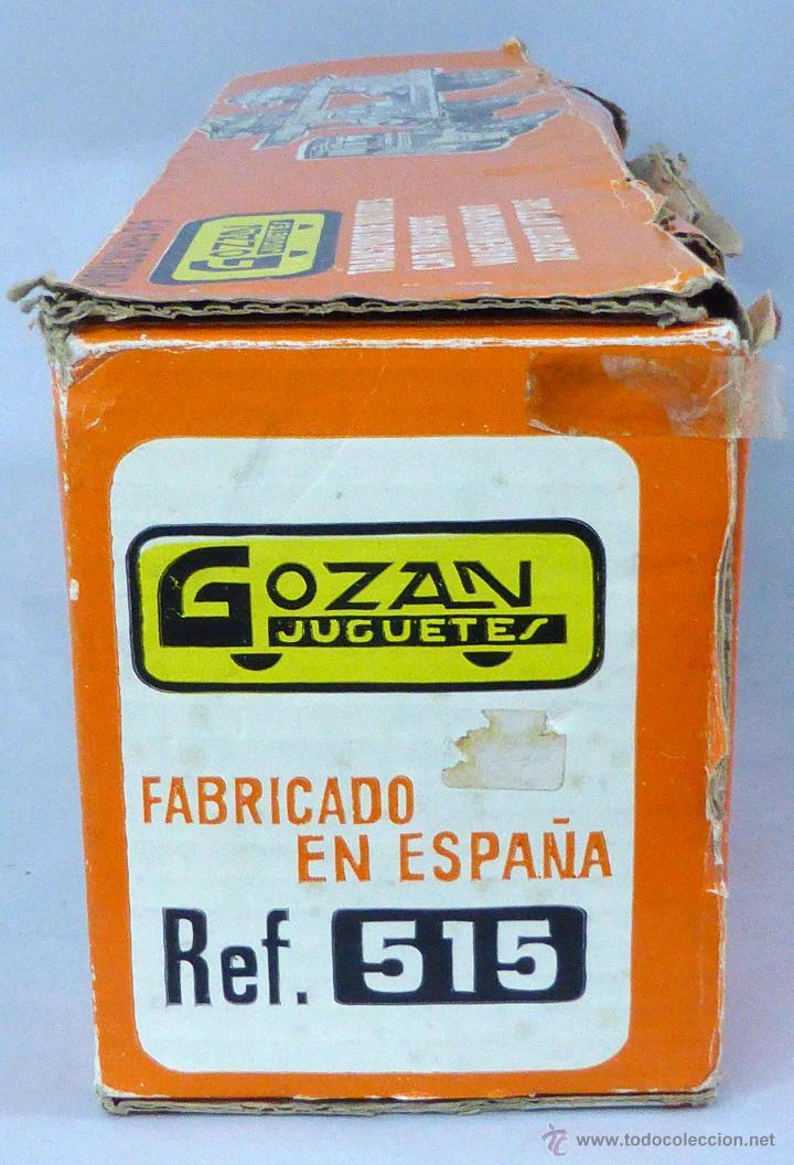 Juguetes antiguos Gozán: Camión Portacoches R 5 Gozán con caja Ref 515 con Seat 124 Sport y 1800 1/23 - Foto 2 - 49321789