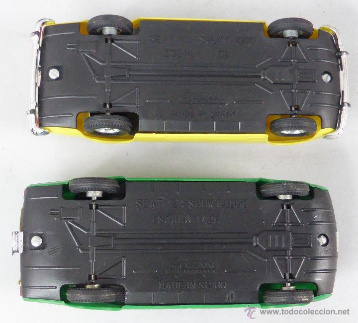 Juguetes antiguos Gozán: Camión Portacoches R 5 Gozán con caja Ref 515 con Seat 124 Sport y 1800 1/23 - Foto 8 - 49321789