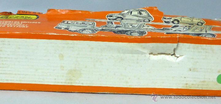 Juguetes antiguos Gozán: Camión Portacoches R 5 Gozán con caja Ref 515 con Seat 124 Sport y 1800 1/23 - Foto 9 - 49321789