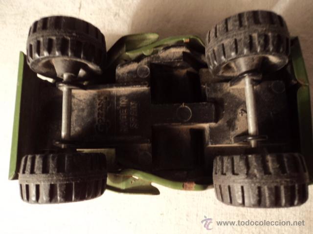Juguetes antiguos Gozán: ANTIGUO CAMION MADE IN SPAIN AÑOS 70/80 MARCA GOZAN - Foto 4 - 51612101