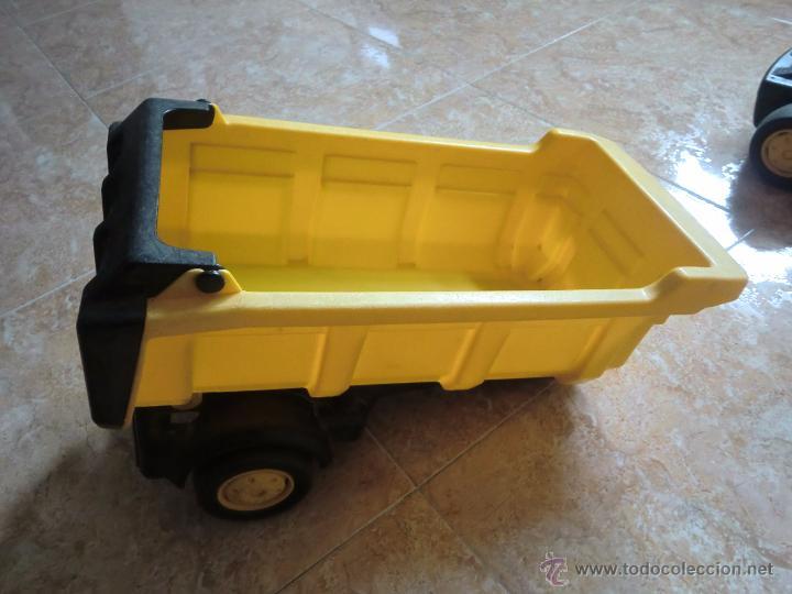 Juguetes antiguos Gozán: Camión con remolque VOLVO GOZAN SERIES. De hierro y plástico. Fabricado en España. Gran tamaño - Foto 11 - 53631912