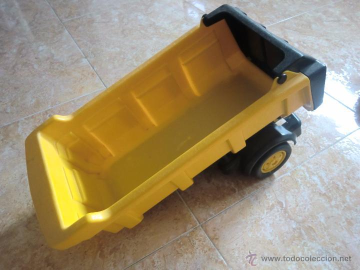 Juguetes antiguos Gozán: Camión con remolque VOLVO GOZAN SERIES. De hierro y plástico. Fabricado en España. Gran tamaño - Foto 12 - 53631912