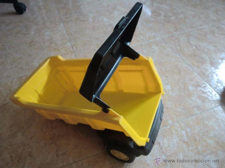Juguetes antiguos Gozán: Camión con remolque VOLVO GOZAN SERIES. De hierro y plástico. Fabricado en España. Gran tamaño - Foto 13 - 53631912