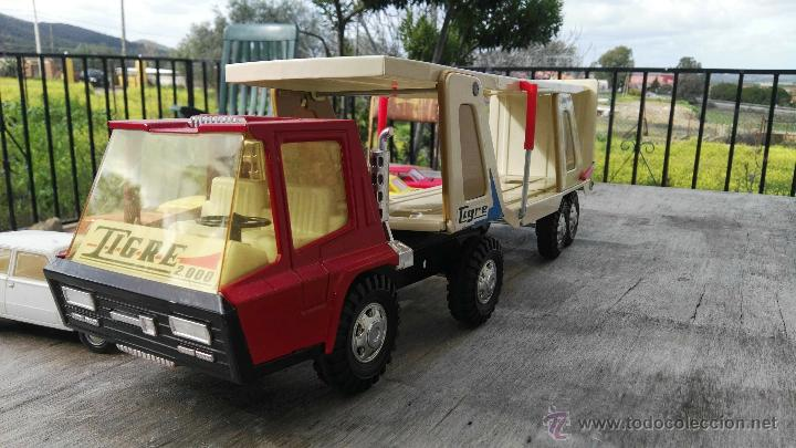 Juguetes antiguos Gozán: camion y coches gozan,seat 124,seat 124 sport - Foto 2 - 54299412