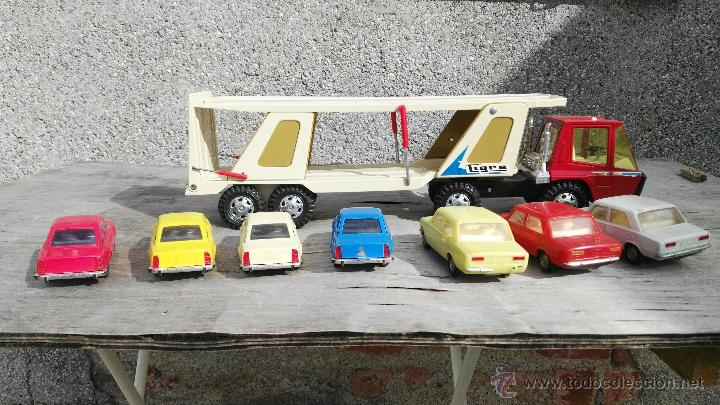 Juguetes antiguos Gozán: camion y coches gozan,seat 124,seat 124 sport - Foto 4 - 54299412