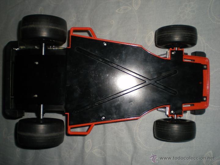 Juguetes antiguos Gozán: Precioso y gran coche RACING ICI Gozan de Hojalata hierro pasta de baquelita años 70 Baja California - Foto 5 - 54473645