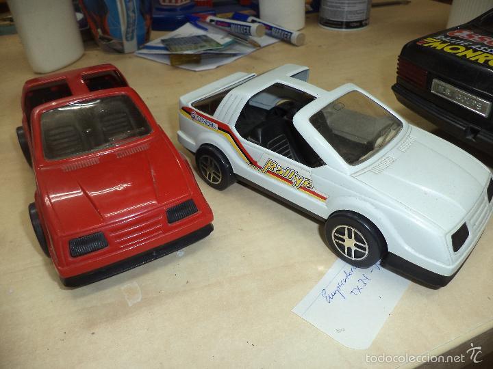 Juguetes antiguos Gozán: Lote 2 Ford Sierra Rallye Repsol de Gozán esc.1/24 - Foto 4 - 55951709