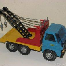 Brinquedos antigos Gozán: CAMIÓN GOZAN SERVICIO GRUA. Lote 59154950