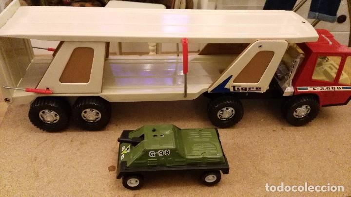 Juguetes antiguos Gozán: Camión tigre 2000 transporte de coches de Gozan - tigre car-2 - Foto 2 - 62964598