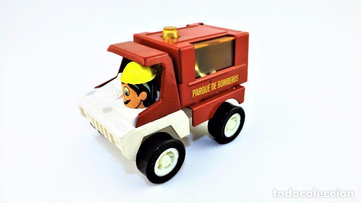 Juguetes antiguos Gozán: Gozán camion Bomberos Panchito - Foto 2 - 141596293
