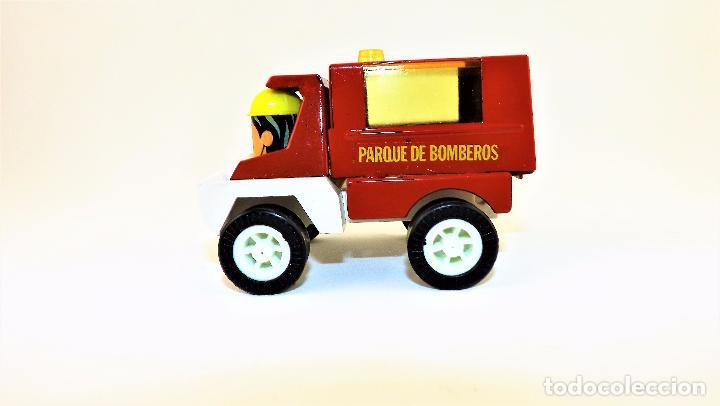 Juguetes antiguos Gozán: Gozán camion Bomberos Panchito - Foto 3 - 141596293