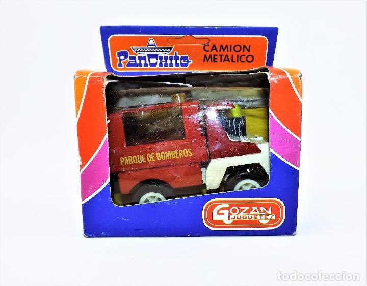 Juguetes antiguos Gozán: Gozán camion Bomberos Panchito - Foto 6 - 141596293