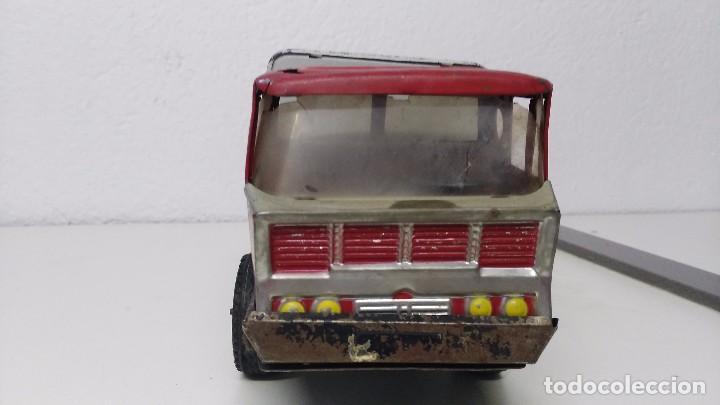 Juguetes antiguos Gozán: antiguo camion servicio municipal de basuras gozan - Foto 2 - 67095177