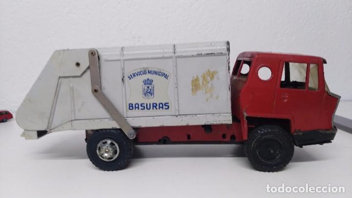 Juguetes antiguos Gozán: antiguo camion servicio municipal de basuras gozan - Foto 3 - 67095177