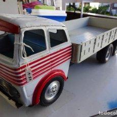 Juguetes antiguos Gozán - Camion Transportes PEGASO. GOZAN. Cabina metálica. Caja de plástico. 47 ctms.. - 86015036