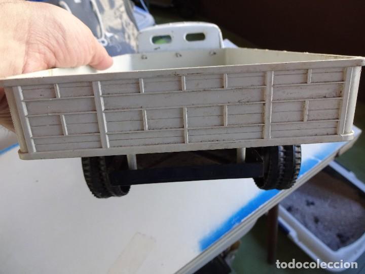 Juguetes antiguos Gozán: Camion Transportes PEGASO. GOZAN. Cabina metálica. Caja de plástico. 47 ctms.. - Foto 4 - 86015036
