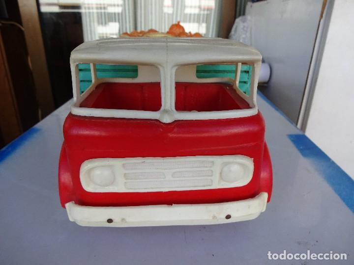 Juguetes antiguos Gozán: Camión Transporte. GOZAN.??. Caja de madera-Cabina de plástico. 47 ctms.. - Foto 5 - 86016620