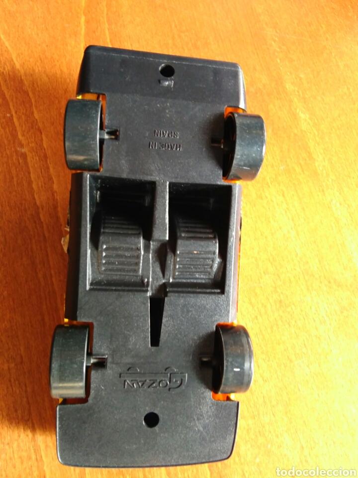 Juguetes antiguos Gozán: Coche de carreras plastico de gozan osama navigare krafft guzzini elf motorcratt - Foto 3 - 86497336