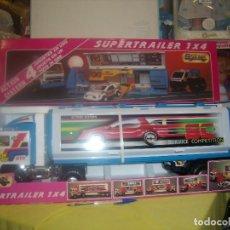 Brinquedos antigos Gozán: GOZAN SUPERTRAILER 1 X 4 REF 410, AÑO 1990, NUEVO SIN ABRIR.. Lote 90038956