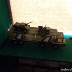 Juguetes antiguos Gozán - Camion militar transporte de Gozan - 90887485