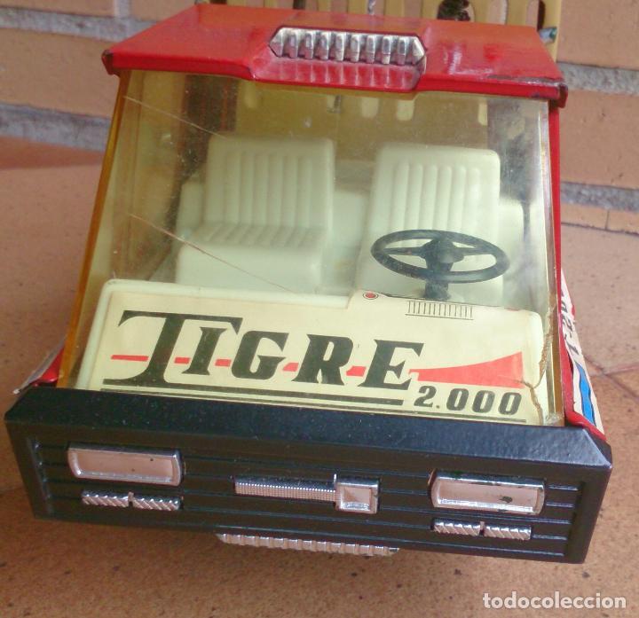 Juguetes antiguos Gozán: Camión Grúa Gozan Tigre 2000 - Foto 2 - 92401940