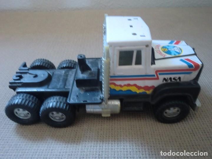 Juguetes antiguos Gozán: Camión de GOZÁN, Space Camp NASA. Gran tamaño - Foto 5 - 97255187