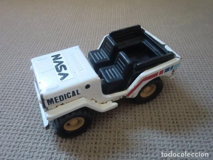 Juguetes antiguos Gozán: Jeep de GOZÁN, NASA Medical 5º dto. - Foto 3 - 97255299