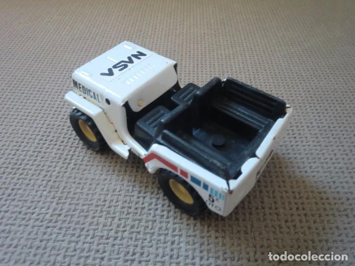 Juguetes antiguos Gozán: Jeep de GOZÁN, NASA Medical 5º dto. - Foto 4 - 97255299