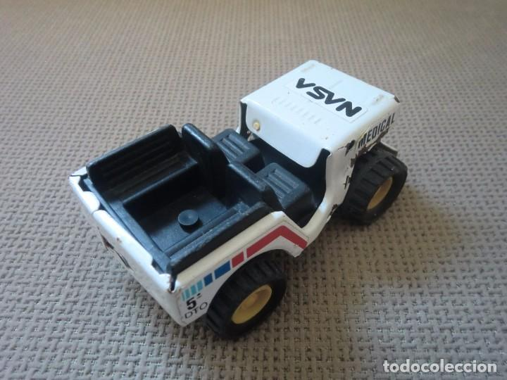 Juguetes antiguos Gozán: Jeep de GOZÁN, NASA Medical 5º dto. - Foto 5 - 97255299