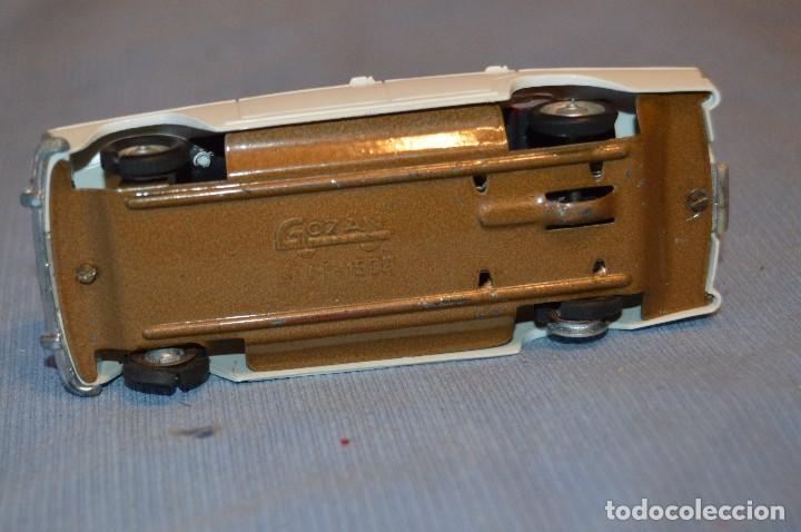 Juguetes antiguos Gozán: Antiguo coche SEAT 1500 de GOZÁN - Made In Spain ¡PRECIOSO! - Mira - Foto 9 - 97719067