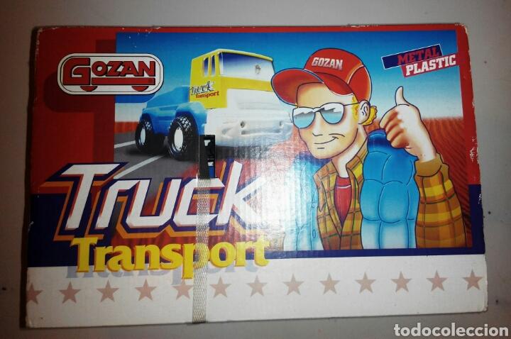 Juguetes antiguos Gozán: GOZAN TRUCK TRANSPORT CAMIÓN CON MOTOS. AÑOS 80. NUEVO - Foto 4 - 97959479