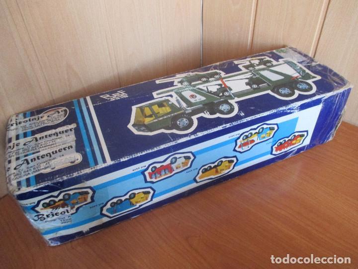 Juguetes antiguos Gozán: GOZAN: CAMION MILITAR REF. 3516 TIGRE CAR -2 CON CAJA - Foto 4 - 113483218