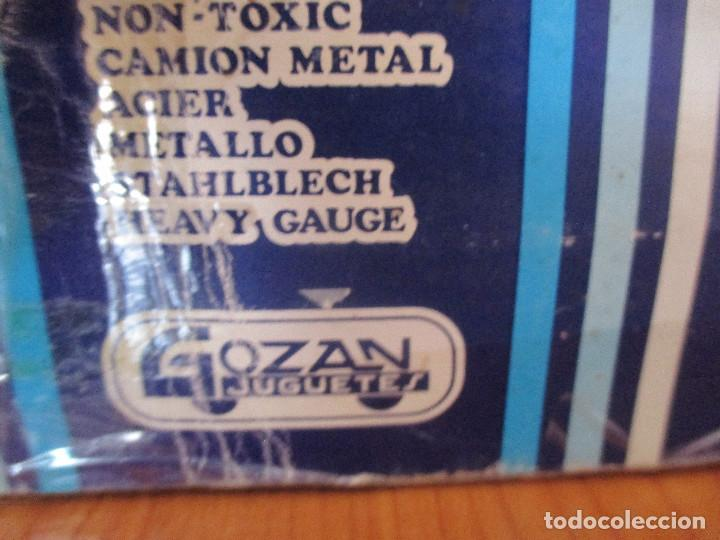 Juguetes antiguos Gozán: GOZAN: CAMION MILITAR REF. 3516 TIGRE CAR -2 CON CAJA - Foto 24 - 113483218