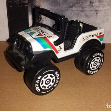 Altes Spielzeug Gozán - JEEP CHANEL 5 TV MOBILE UNIT TRACKING STATION DE GOZAN EN BUEN ESTADO AÑOS 80 MADE IN SPAIN - 101211883