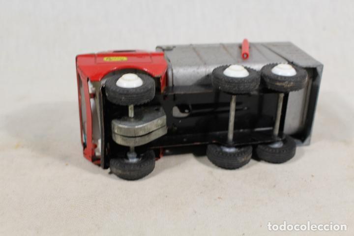 Juguetes antiguos Gozán: camion basura de gozan - Foto 2 - 107386703