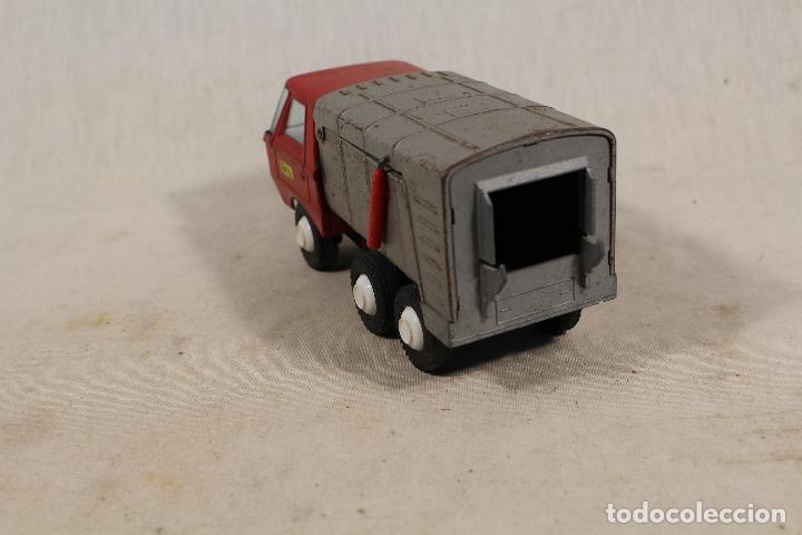 Juguetes antiguos Gozán: camion basura de gozan - Foto 3 - 107386703
