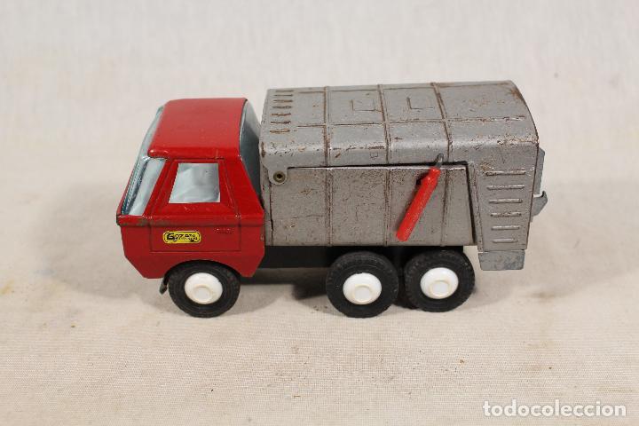 Juguetes antiguos Gozán: camion basura de gozan - Foto 4 - 107386703