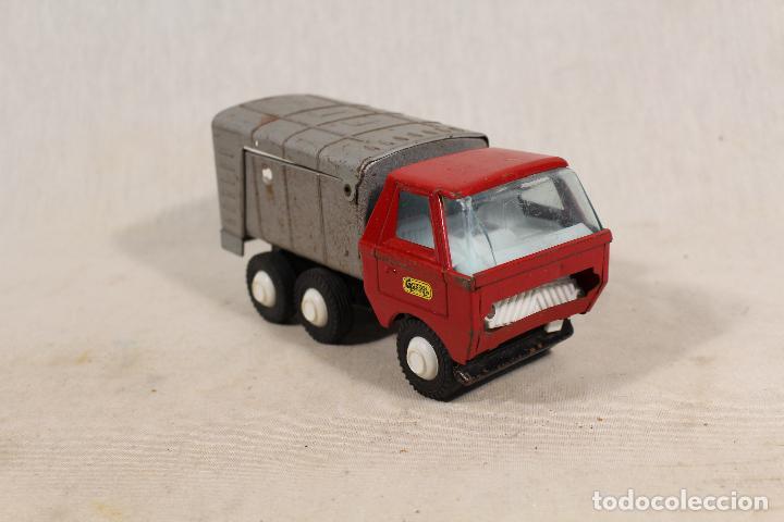 Juguetes antiguos Gozán: camion basura de gozan - Foto 5 - 107386703