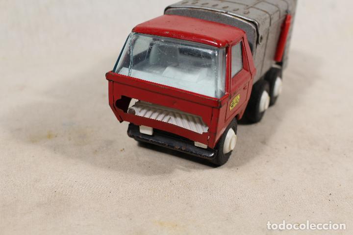 Juguetes antiguos Gozán: camion basura de gozan - Foto 6 - 107386703