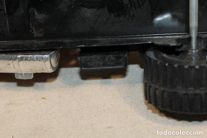 Juguetes antiguos Gozán: GOZAN - Camión chapa americano TIGERS TEAM SUPER BOSS BANDIT ROAD remolque porta coche MIGHTY TRANS - Foto 4 - 107627447